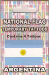 Argentina Country Flag Tattoos.